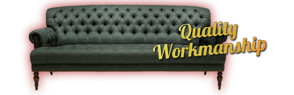 Quality Workmanship | Tufted Couch